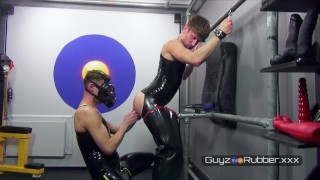 More from fucking Rubber Piss Pig