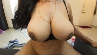 Karisma S6E4 Slutty Indian with Huge Tits Fucks Landlord to Save Rent -Follow her on Insta @ishka.tv