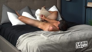 SeanCody - Muscular Dude Lachlan Strokes His Cock For The Camera