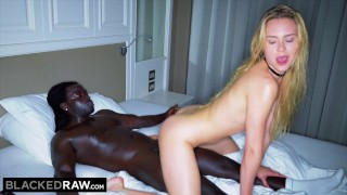 BLACKED RAW -  She couldn't wait to get back to the hotel for her BBC fix
