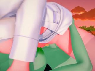 Futa – Huntress Wizard x Princess Bubblegum (Adventure Time)