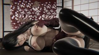Final Fantasy 7 - Tifa Lockhart masturbation