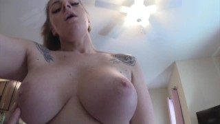 My Big Tit Step-Mom Helps Me With Poison Ivy
