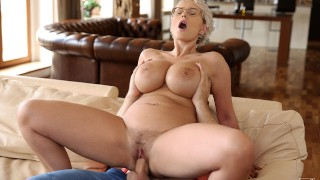 Stepson Fucks Big Titted Stepmom