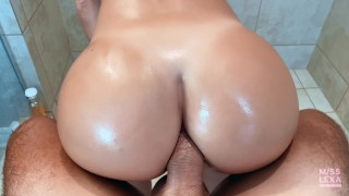 i'll give you a rimjob if u fuck my ass properly - Anal POV