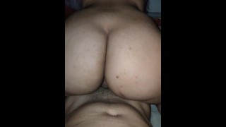 Hot Venezuelan TEEN RIDES my DICK, she is always horny...