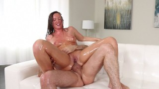 Anal Fanatic: Maddy O'Reilly Gets Her Oiled Up Asshole Fucked
