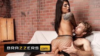 Brazzers - Hot Brunette Gina Valentina Riding Michael Vegas Big Dick
