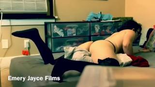 Spying on step sister masturbating