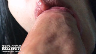 ASMR The Best Blowjob You Ever Seen In Your Life, I Sucked His Entire Soul - SadAndWet ASMR