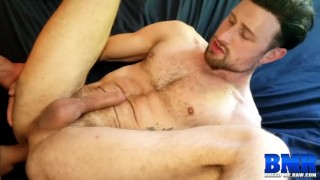 BREEDMERAW Drew Dixon Hammered After Sucking Off Hung Stud