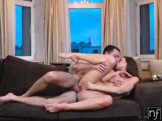 Busty Brunette Kecy Hill Titty Fucks Big Cock before Sensual Love Making – S11:E10
