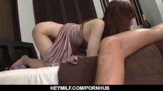 Hot Yui Hatano deals younger penis in her MILF on JavHD Net
