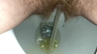 Zoom Pee in Toilet and Spread Pussy Lips - Bunnie Lebowski
