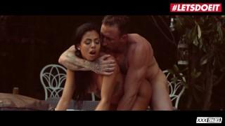 XXXShades - Canela Skin Big Tits Latina Colombiana Outdoor Fuck By The Pool