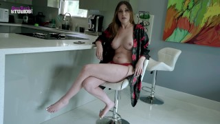 Fucking My Hot New Step Mom with Huge Tits for the First Time - Amiee Cambridge