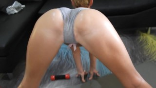 SWIM In My SWEAT In Grey Panty #2