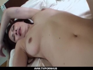 Japanese Miyu Ninomiya works the cock like magic – More at 69avs com