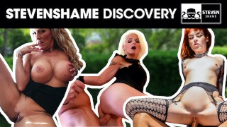 Four filthy sluts get their PUSSIES stuffed by random men! stevenshame.dating