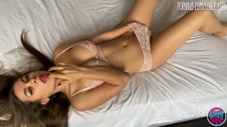 romantic sex with girl with big tits in sexy lingerie
