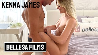 Bellesa - Kenna James and Nathan Bronson in playful and passionately intense sextape