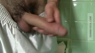 Closeup Piss and Cum (Massive Cock)