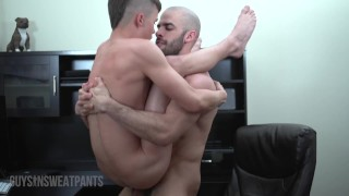 Black Daddy Austin Wilde Dominates Young Twink Andy Taylor Fucking His BBC