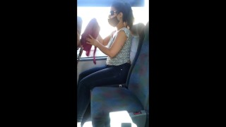 (Real Risky) Public Blowjob in the Bus, from a Stranger!!!!