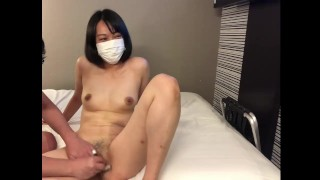 A beautiful woman with bristle pussy turns into a slippery pie bread