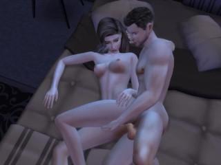 Hot Teacher And Teen Student Romantic Relationship – (My Art Professor – Episode 1) – Sims 4