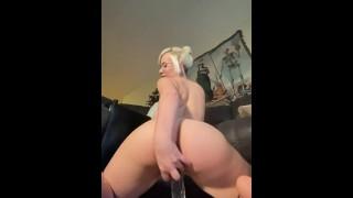 Goth Egg POV Riding and Sucking Toy