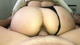 A neighbor comes to my room for any reason. She loves to fuck!