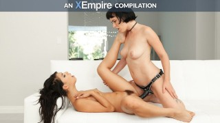 LesbianX - Lesbian Anal Strapon Compilation