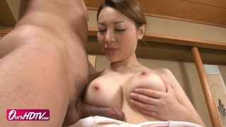[OURSHDTV][中文字幕]Big boobs Mai Uzuki swallows cum uncensored