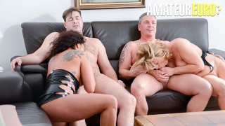 ReifeSwinger - Chubby German Matures Intense Kinky Swinger Foursome - AMATEUREURO
