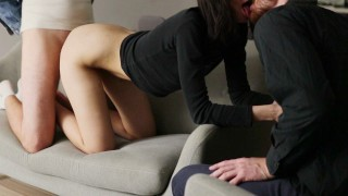 WATCHING MY GIRLFRIEND FUCK WITH ANOTHER GUY.Cuckold