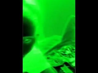 Mylf Blows Neon Man