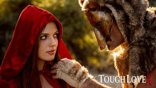 TOUGHLOVEX Red Riding Hood Scarlett Mae meets Werestud