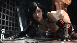 Tifa Thicc_Final Fantasy 7 Remake_in the Dungeon