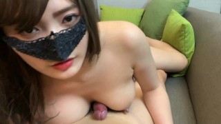 Cute naked girl try to make dick hard and get fucked -PREVIEW-
