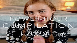 BrandiBraids' 2020 POWER HOUR Cumpilation! Happy New Year!