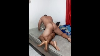 Deep penetration by a bear type dominant male