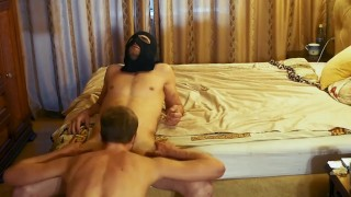 Amateur gay porn, russian, with a dominant