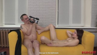 Man with cam does porn with chick