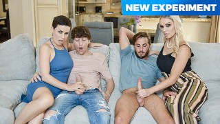 Lets Swap StepSons & Fuck Them! MILFS Olive Glass and Kenzie Taylor