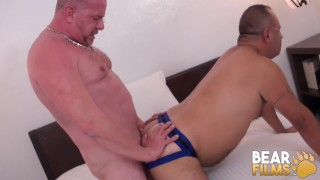 BEARFILMS Wild Bear Russ Rodgers Cock Sucked Before Fucking