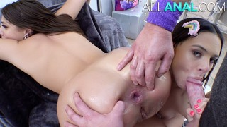 ALL ANAL Violet Starr and Gia Derza are certified buttsluts