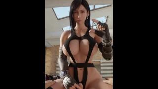 Tifa Lockhart small penis humiliation - Final Fantasy 7 Remake