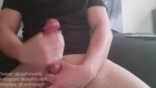 Leonardo Prince Masturbation Dirty Talk & Nasty Cumshot Compilation 2020