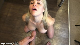 Pissing compilation - piss swallow - piss fetish - Mya Quinn